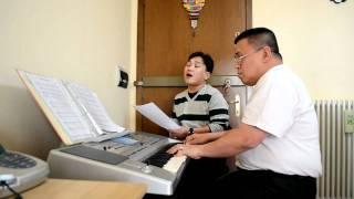 EXFELICOS BOLICO Sings HANGARIN NG PUSO KO YAHWEH - PADOVA SINULOG 2012