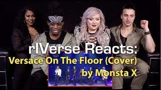 rIVerse Reacts Versace on the Floor (Cover) by Monsta X - Live Performance Reaction