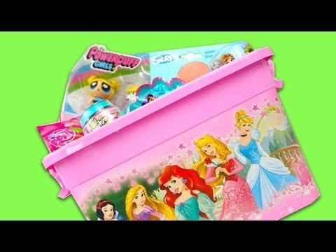 Коробка с сюрпризами и игрушками для детей