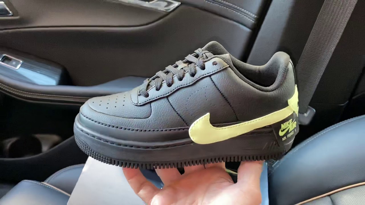 Nike Air Force 1 Jester XX Black Barely