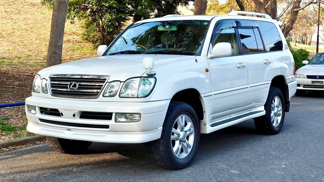 2004 Land Cruiser 100 Series Cygnus (Canada Import) Japan Auction Purchase  Review