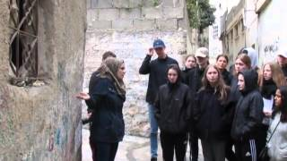 Danish Efterskole trip to Palestine with the JAI - 14-22 March 2016