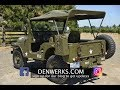 1964 JEEP CJ5 M38A1 Denwerks Bring A Trailer NO RESERVE JULY 3rd, 2017