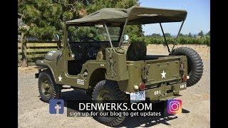 1964 JEEP CJ5 M38A1 Denwerks - Bring A Trailer