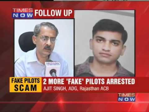 2 more 'fake' pilots arrested