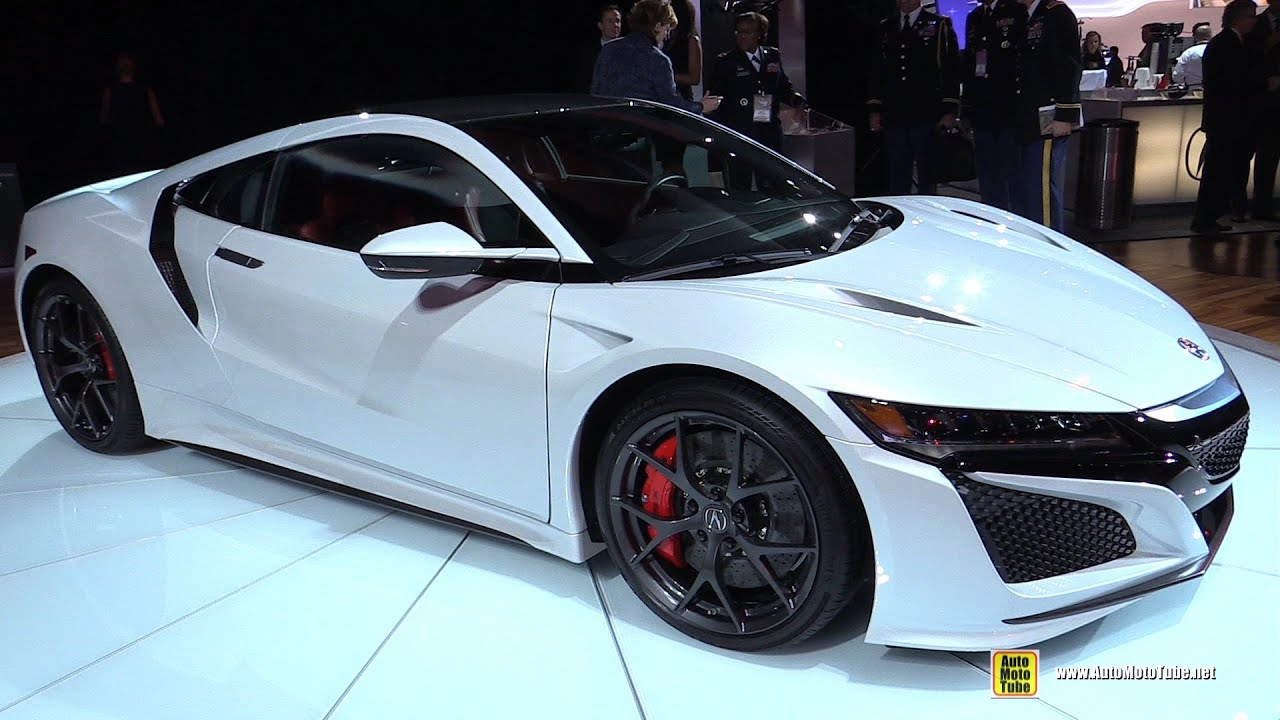Acura Nsx Exterior And Interior Walkaround  Detroit Auto Show Youtube