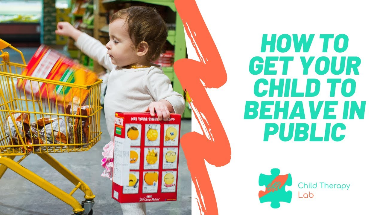 3 Tips for Getting Your Child to Behave Better in Public