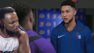Ben Simmons Disrespected Me! Rookie Of The Year Battle! NBA 2K19 MyTeam Ep 19