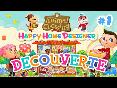 Animal Crossing Happy Home Designer - Découverte du jeu ! - YouTube