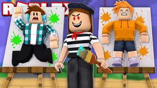 ROBLOX-ESCAPE FROM THE CRAZY IN THE ART GALLERY!!