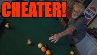 GRANDPA IS A CHEATER!!