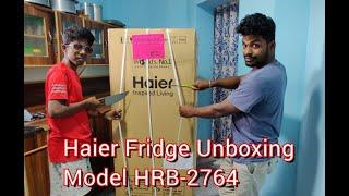 Haier Fridge Unboxing || Model…