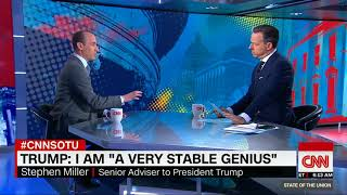 Jake Tapper of Fake News CNN just got destroyed in his interview with Stephen Miller