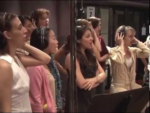 "Marvin Hamlisch and the Revival Cast of ""A Chorus Line"" Record the 2006 Cast Recording"