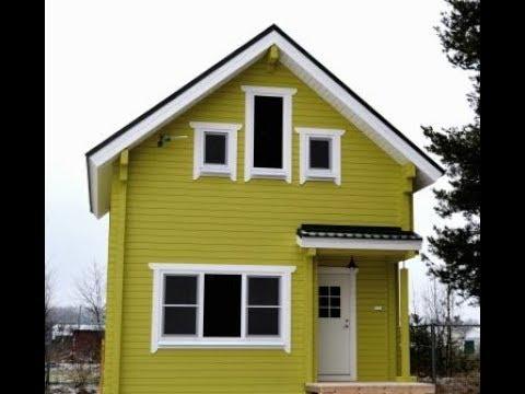 Дом из клеёного бруса  под ключ.