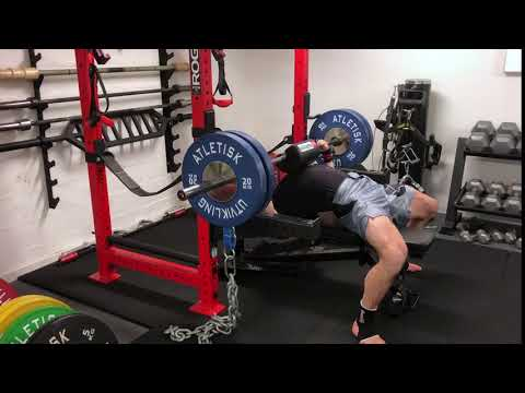 Bench Press with Shoulder Saver Pad
