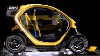 Renault Twizy RS F1 Concept 2013 Videos