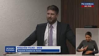 Requião Filho repudia atitude de Governador Ratinho Jr