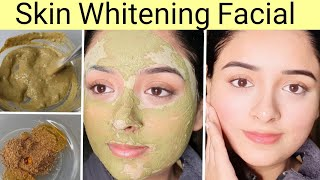 Instant Skin Whitening Facial at Home, Very Easy, 100% Glowing Skin