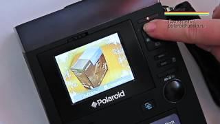 видео Цифровая камера Polaroid Z340
