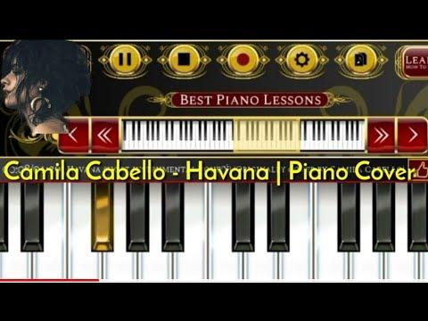 HAVANA - Camila Cabello - Simple Piano Tutorial ( Cover Piano )