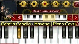 Gambar cover HAVANA - Camila Cabello - Simple Piano Tutorial ( Cover Piano )