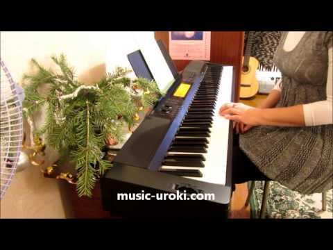 """Уроки игры на фортепиано. Посадка за инструментом.  Школа """"Piano Online"""" - Урок 1"""