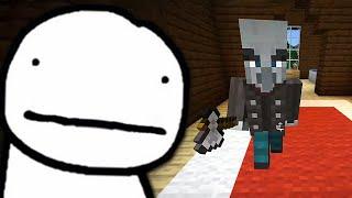 Dream tries to Speedrun the Woodland Mansion in Minecraft (RARE)