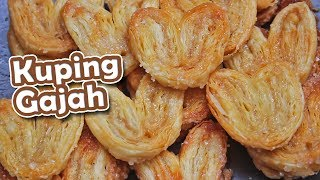 Resep KUE KERING KUPING GAJAH | PALMIERS
