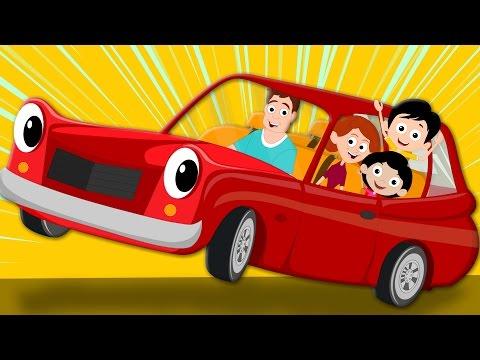 daddy's red car | original song | nursery rhymes | childrens song | kids rhymes | kids tv