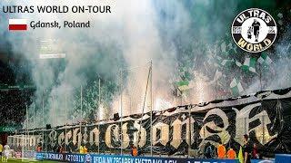 Ultras World in Gdańsk - Lechia vs Arka Gdynia 27.10.18
