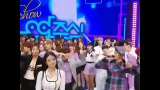 Jennie and Exo 😀 Music core today