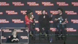 The Walking Dead : Nadia Hilker & Dan Fogler WSC NJ 2018