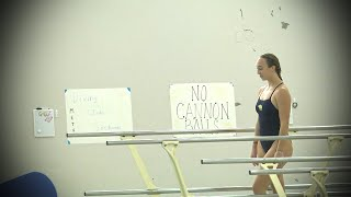 Girls Diving Metea Valley Sectional 10.24.20
