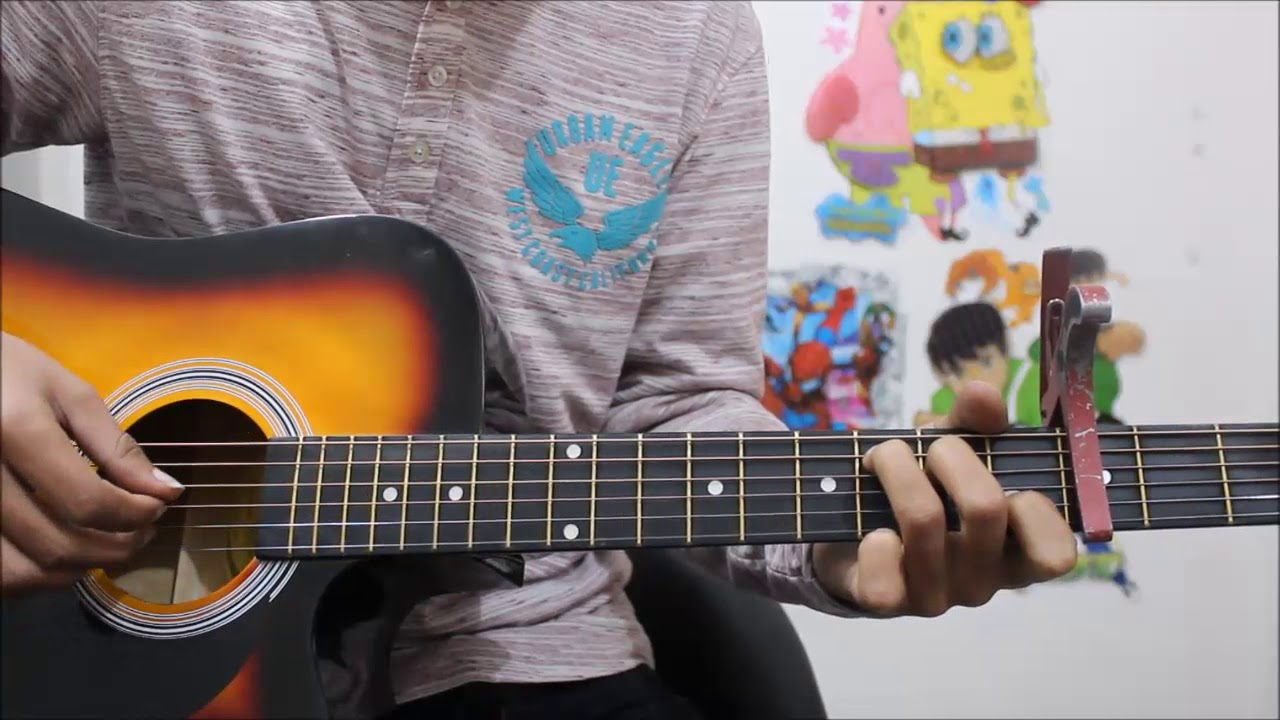 Tum Mere Ho Hate Story 4 Hindi Guitar Cover Lesson Chords Easy