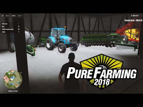 PURE FARMING 2018 - Fertilization, Spraying and Harvesting