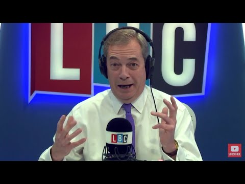 The Nigel Farage Show: Should the UK pay £45m to beef up border security in Calais? - 18th Jan 2018