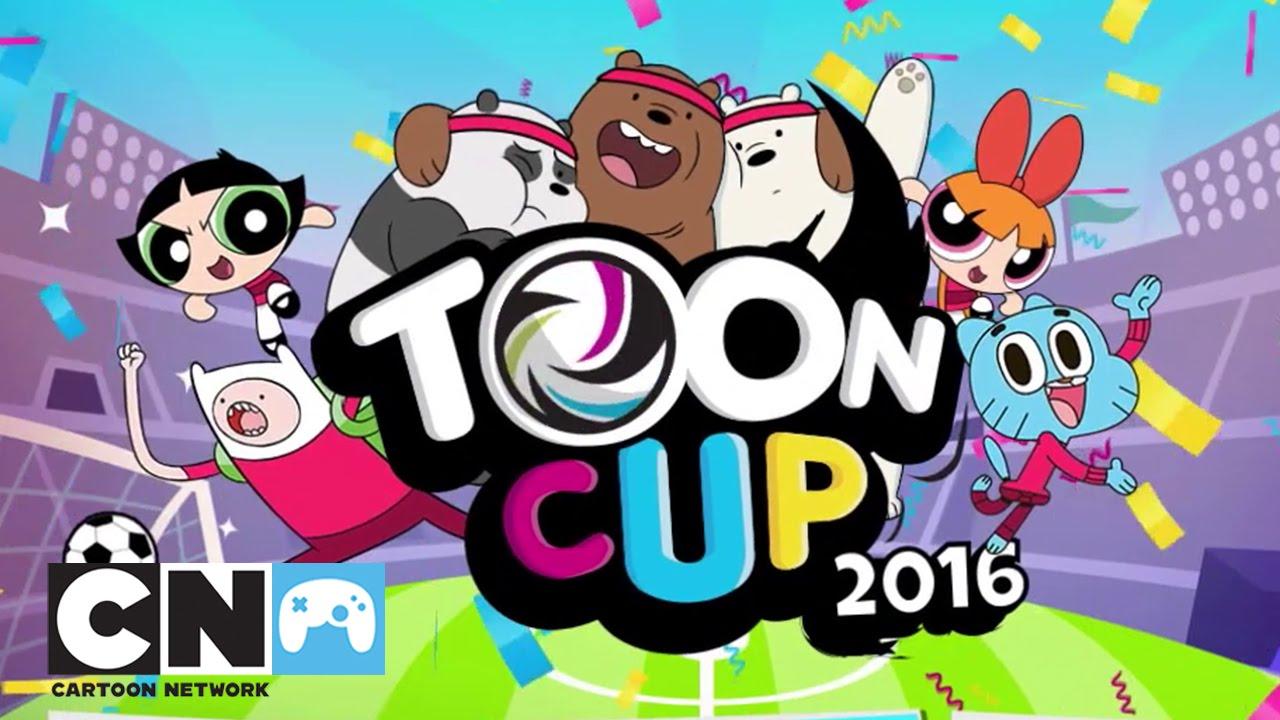 Copa Toon 2016 Juegos Cartoon Network Youtube