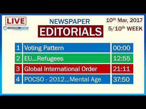 Editorial Discussion - 37