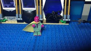 Lego The Mind Stone  A Vision Story