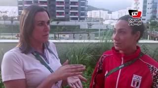«علواني» عن بطلة السباحة فريدة عثمان : وجودنا قبل النهائي انجاز