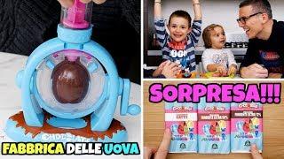 LA FABBRICA DELLE UOVA: Ovetti Sorpresa FAI DA TE con PJ Masks