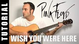 Como tocar acordes Wish you were here - Pink Floyd (Guitarra FACIL Tutorial Acordes)