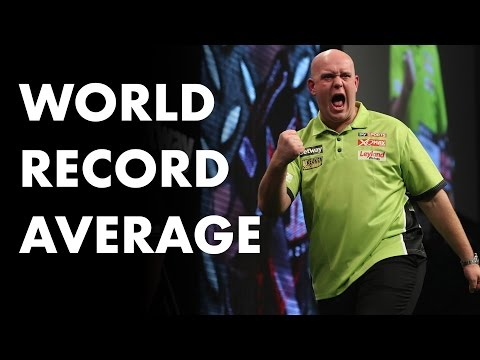 World Record Average! Michael van Gerwen averages 123.4! INCREDIBLE!