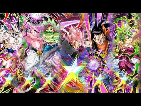 120% Full Cowl🌈⭐Villain Team Showcase! DESTRUCTION BEYOND ITS LIMITS! | Dragon Ball Z Dokkan Battle
