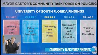 Mayor's Community Task Force on Policing - Full Event