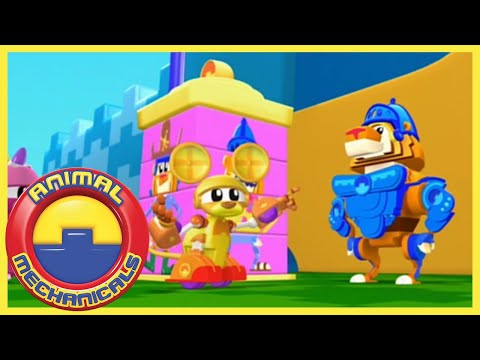 Animal Mechanicals 311 - Tiger Knight Island | Full Episode HD | Cartoons for Kids