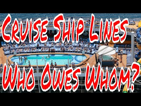 Cruise Ship Lines Who Ownes Whom? Biggest Cruise Ship Companies With the Most Ships