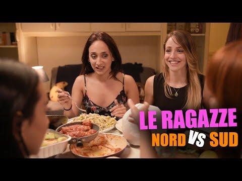 Le RAGAZZE - NORD vs SUD