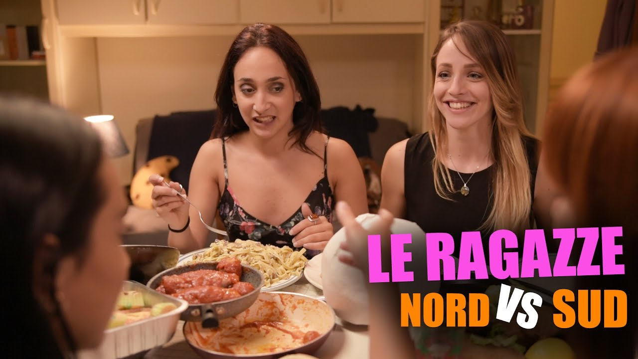Le RAGAZZE  NORD vs SUD  YouTube